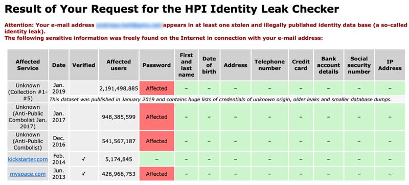 Leaked Passwords #3