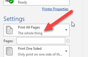 Print all Pages - The whole thing