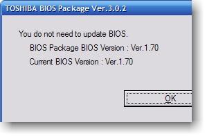Toshiba BIOS Package