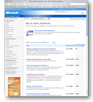 Mac and other Platforms