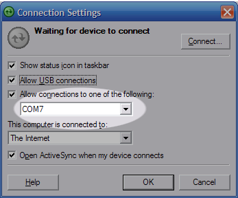 Connection Settings