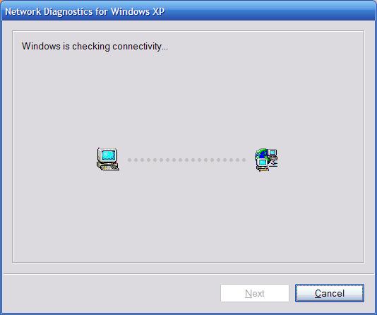 Network DIagnostics fpr Windows XP