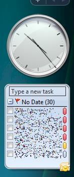 Outlook Gadget