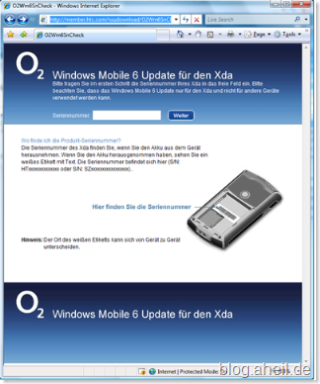 Windows Mobile 6 Update for Xda