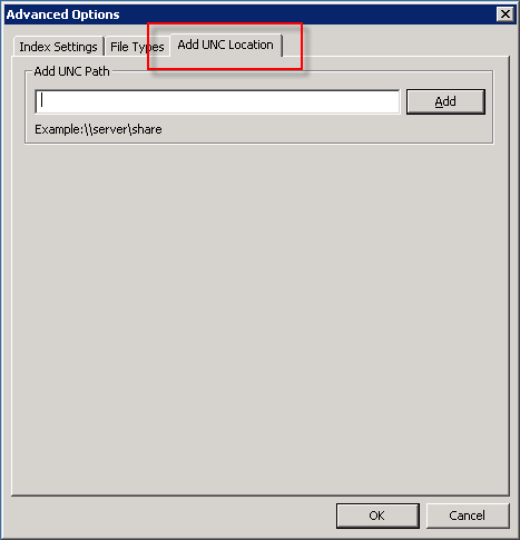 WS4 Advanced Option at Windows Server 2K3
