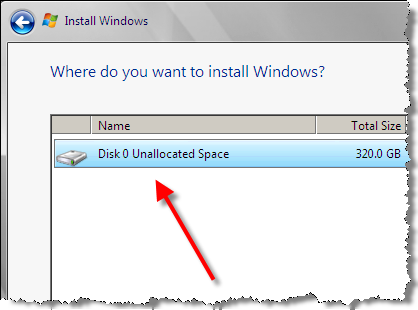 Virtual HDD for Windows Server 2008
