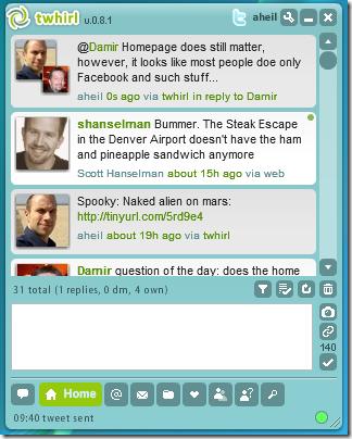 Twihrl Screenshot