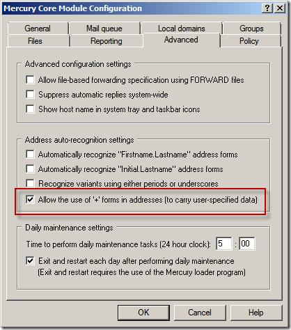 Mecury Coe Module Configuration