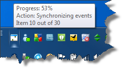 Google Calendar Sync running on Windows 7