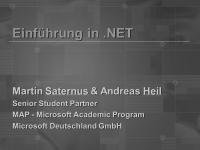 Einführung in .NET