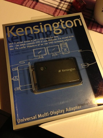 Kensignton Univeral Multi-Diplay Adapter