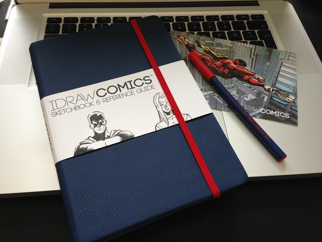 I DRAW COMICS Sketchbook and Reference Guide