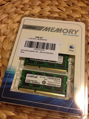 CT3327367 Crucial 16 GB Memory Upgrade