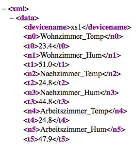 XS1 XML