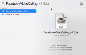 Finding FacebookVideoCalling_v1.6.jar